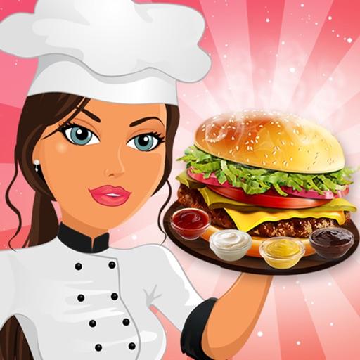 jeu de cuisine burger fast food restaurant chef par lapusanu patriciu. Black Bedroom Furniture Sets. Home Design Ideas