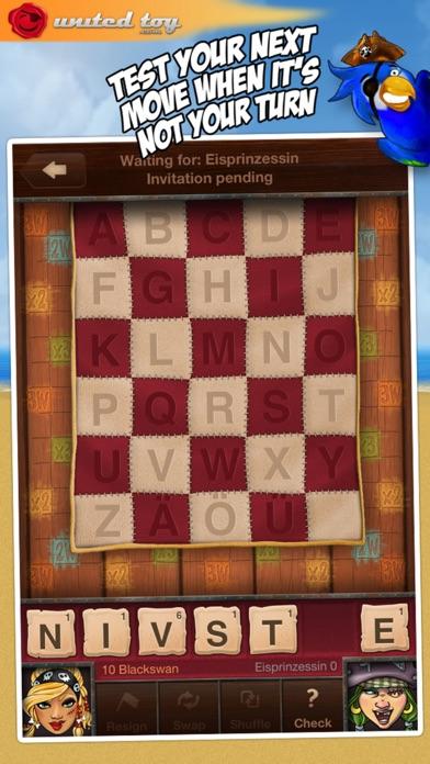 Screenshot #10 for Words+ ~ a Scrabble like game ~ turn-based