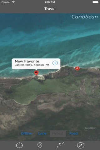 COZUMEL ISLAND – GPS Travel Map Offline Navigator screenshot 3