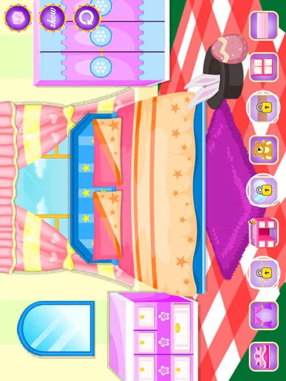 App shopper little princess 39 s room design games for Room design game app