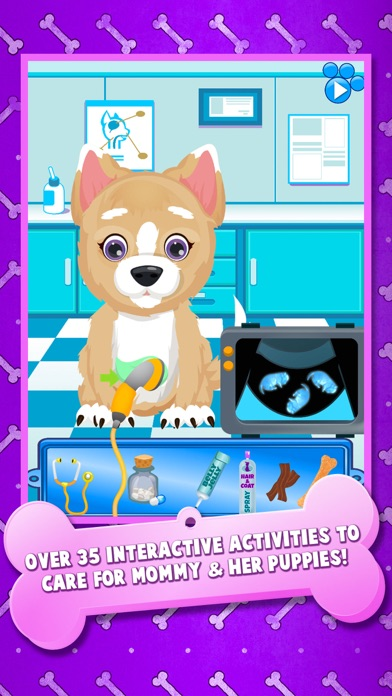 download Newborn Puppy Baby & Mommy Dog Pregnancy Pets Game apps 2