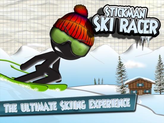 Screenshot #1 for Stickman Ski Racer