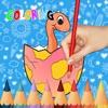 恐龍圖畫書為孩子幼兒遊戲免費