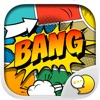 Cartoon Comic Stickers iMessage by ChatStick