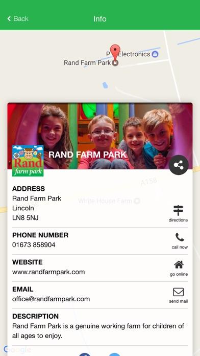 Screenshot of Rand Farm Park App