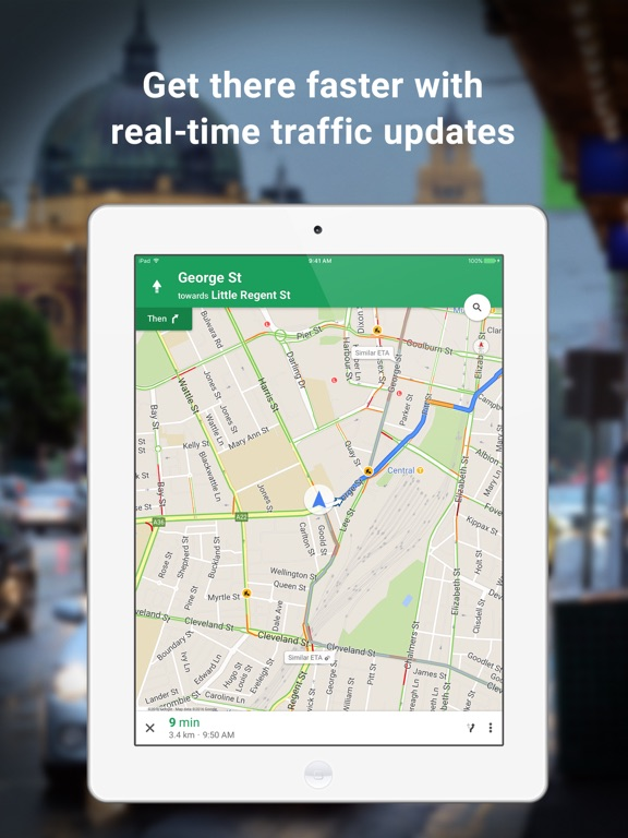 Google Maps GPS Navigation On The App Store - Vilnius maps google