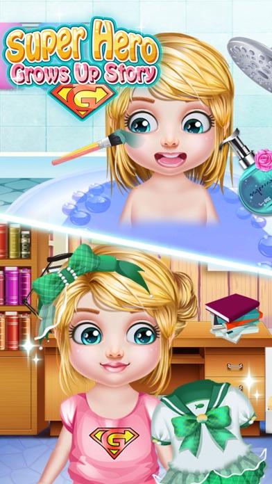 スーパーヒーロー成長ストーリー - 楽しいゲームのスクリーンショット2