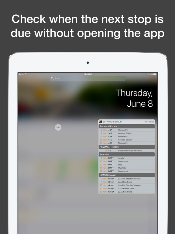 How To Enable Travel Times Widget