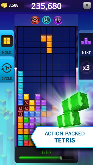 Screenshot #6 for Tetris® Blitz