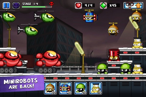 Tiny Defense 2 screenshot 1