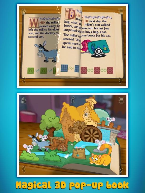 Grimm's Puss in Boots ~ 3D Interactive Pop-up Book Screenshots