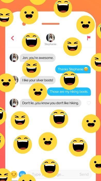 Screenshot of Tinder App