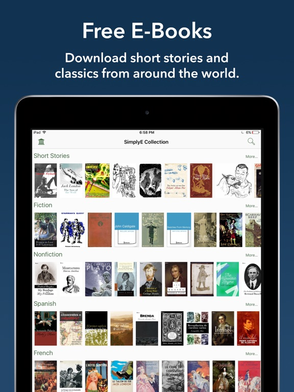 Best free books apps for ipad ios 9 and below page 11 view on itunes app store fandeluxe Images