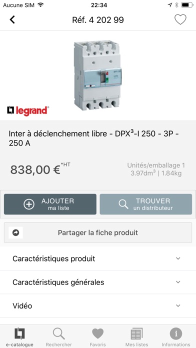 Catalogue Legrand Pro Скриншоты5