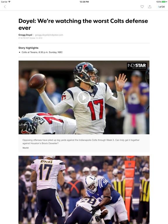 IndyStar Colts Xtra iOS Application Version 24 3 80