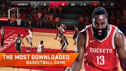 download NBA LIVE Mobile Basketball apps 3