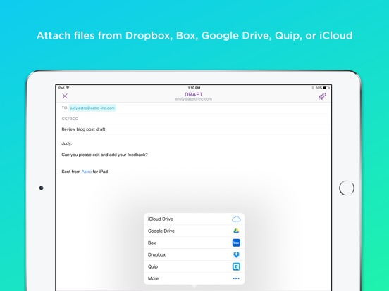 Astro Mail - Email Meets AI Screenshot