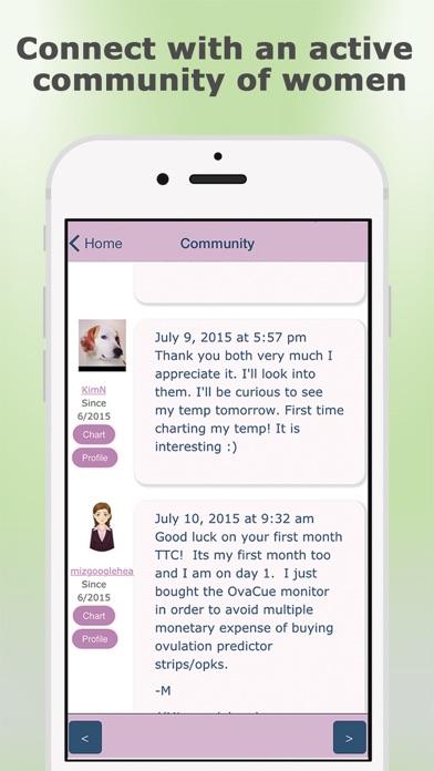 OvaGraph - TCOYF Fertility & Ovulation Tracker iPhone