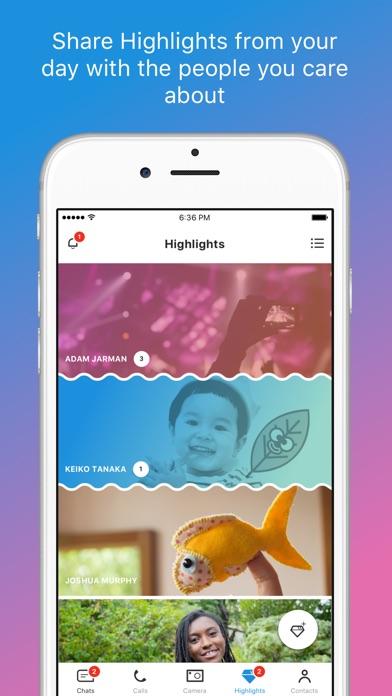 Skype for iPhone screenshot 5