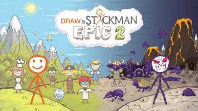 Draw a Stickman: EPIC 2 Pro app