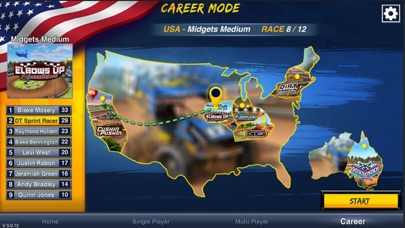 Dirt Trackin Sprint Cars screenshot 2
