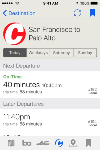 Routesy Pro Bay Area screenshot 3