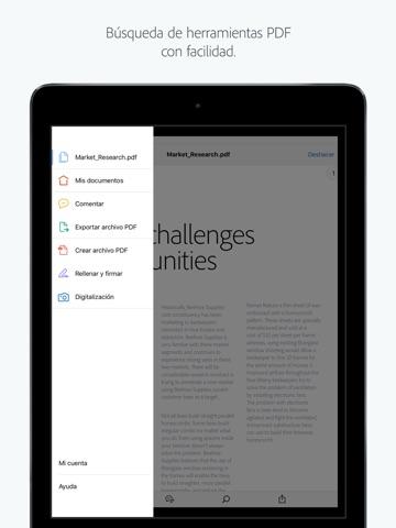 Adobe Acrobat Reader screenshot 1