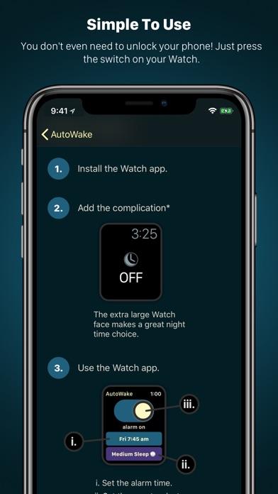 AutoWake. Smart Sleep Alarm Screenshot 5