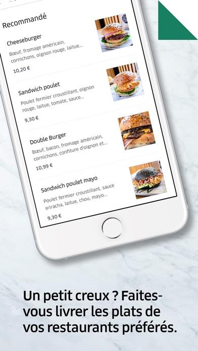 uber eats livraison de repas dans l app store. Black Bedroom Furniture Sets. Home Design Ideas