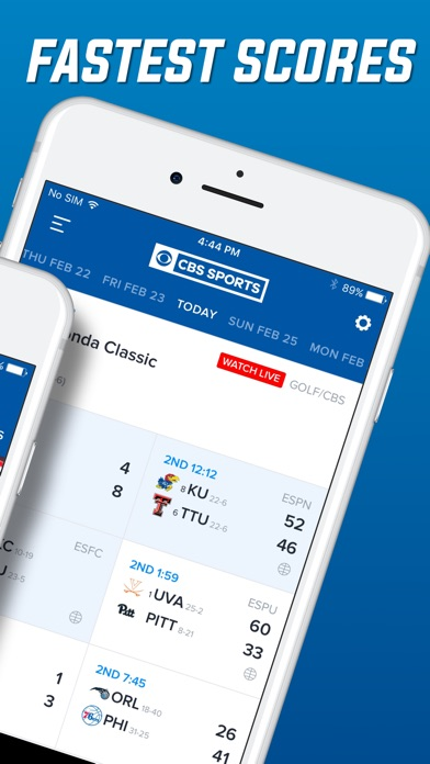 download CBS Sports Scores, News, Stats apps 2