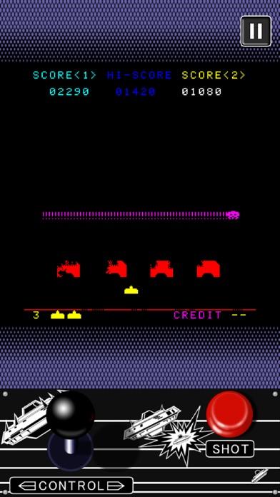 スペースインベーダー screenshot1