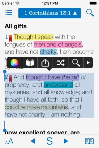 Bible Dictionaries & Strong's screenshot 1