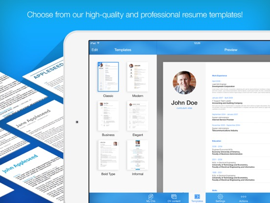 Resume Builder - Resume Maker Screenshots