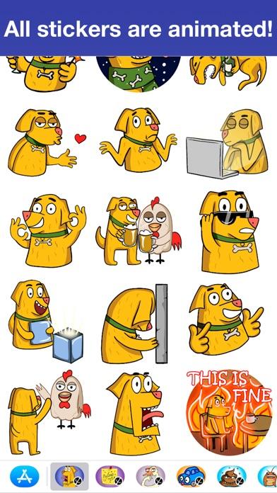 Пёс Cooper - АнимированныеСкриншоты 3