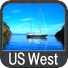 Boating US West & Alaska GPS chart navigator