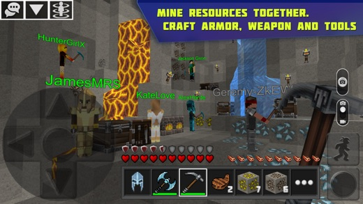 Planet of Cubes Survival Craft Screenshots