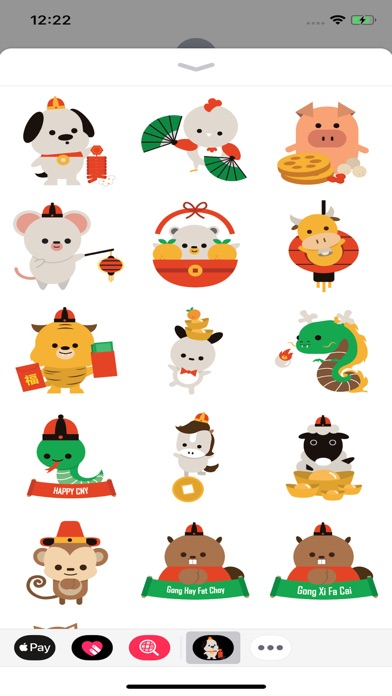 download Chinese New Year Sticker Set apps 0