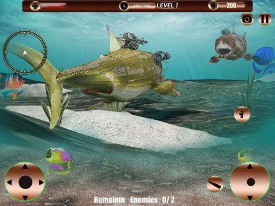 Angry Robot Shark Simulator screenshot 10