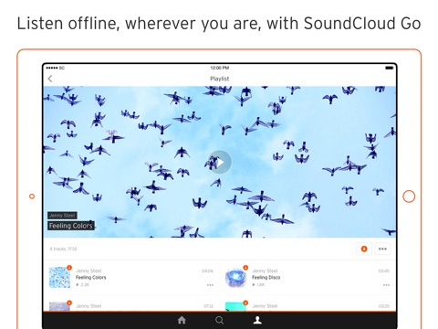 SoundCloud - Music & Audio screenshot 4