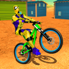 Spider Superhero Bicycle Riding: Offroad Racing