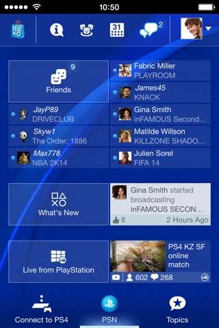 PlayStation App screenshot 1