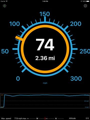 Speedometer Speed Box screenshot 1