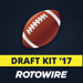 RotoWire Fantasy Football Draft Kit 2017