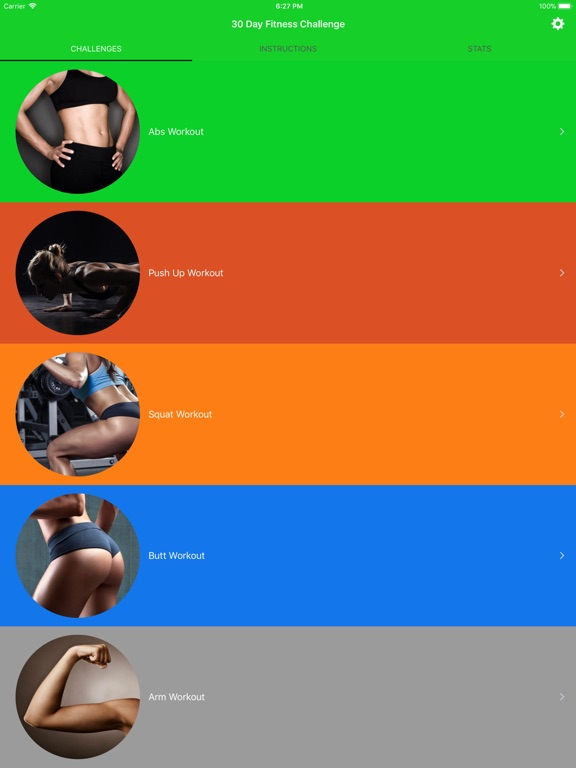 30-дневная тренировка для заня Скриншоты7