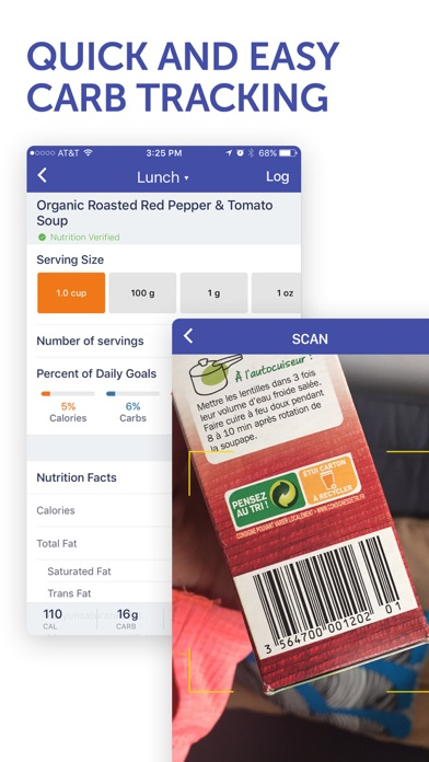 Screenshots of Glucose Buddy - Diabetes Logbook Manager w/syncing, Blood Pressure, Weight Tracking for iPhone