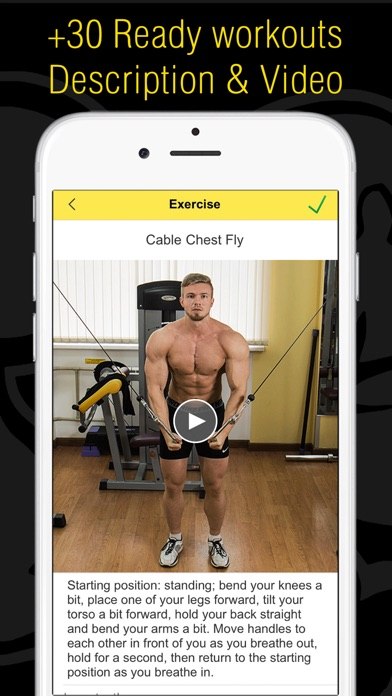 Fitness - Workout for Gym|Home Screenshot