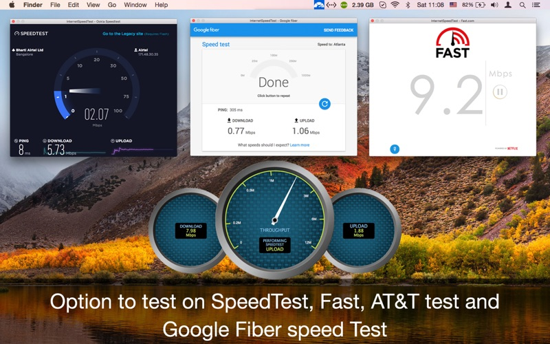 Internet Speed Test Meter Net - Get 99.8% Accuracy Screenshots
