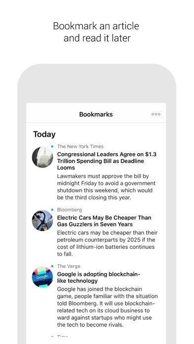 Screenshot of Briefeed3