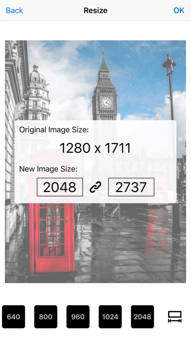 Screenshot for Image Resizer Pro - image crop in United States App Store