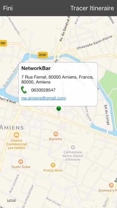 Network BarCapture d'écran de 4